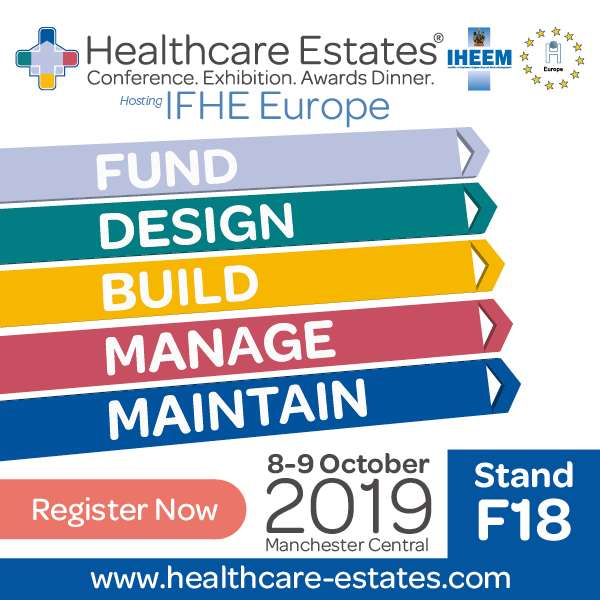 Healthcare Estates Banner